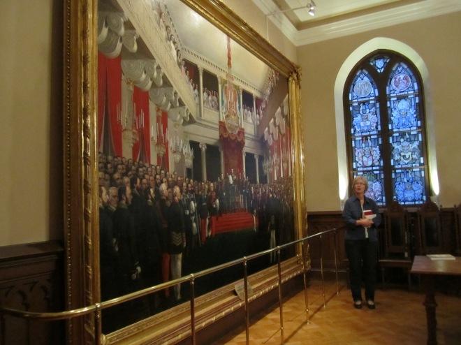 R.W. Ekman: Keisari Aleksanteri II julistaa vuoden 1863 säätyvaltiopäivät avatuiksi